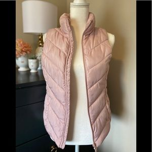 SO pink puffer vest